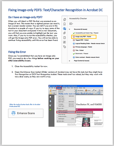 PDF document with images